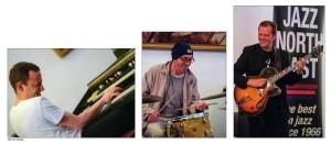 organ trio collage
